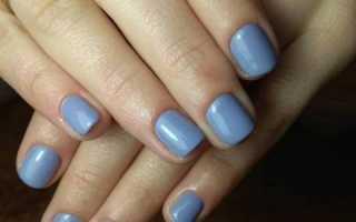 Дизайн на короткие ногти гель лаком