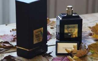 Tom ford tobacco vanille: отзывы, описание аромата