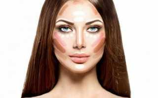Как с помощью макияжа сделать уже нос?