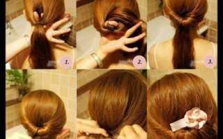 Как сделать красивую прическу на длинные волосы за 5 минут своими руками?