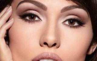 Праздничный макияж для карих, зеленых, серых и голубых глаз