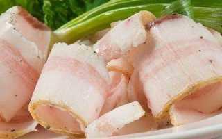 Сало свиное (без прослойки)