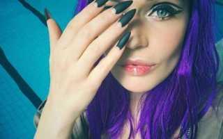 Как сделать форму ногтей «балерина» с фото и видео