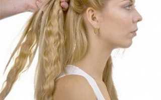 Как крепить волосы на заколках?