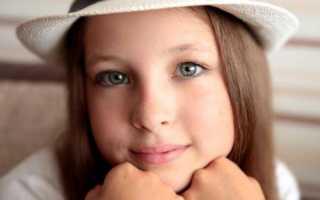 Легкий и красивый макияж для детей 9-12 лет на праздник (пошаговая инструкция с фото)