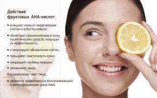 8 кислотных тоника для лица: с фруктовыми кислотами