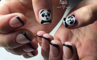Маникюр панда: актуальность, применение и варианты создания дизайна