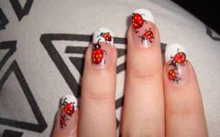 Маникюр на коротких ногтях для школы: 50 идей