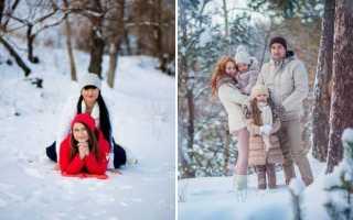 Секреты успешной зимней фотосессии