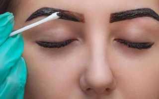 Как и чем правильно красить брови
