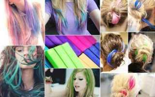 Как можно покрасить кончики волос в домашних условиях