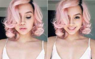 Розовая краска для волос: топ лучших, возможные оттенки, советы и рекомендации