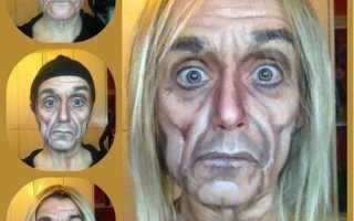 На хэллоуин макияж и сексуален, и ужасен