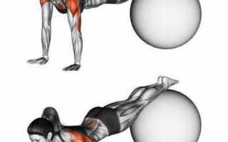 Комплекс упражнений для похудения с мячом для фитнеса