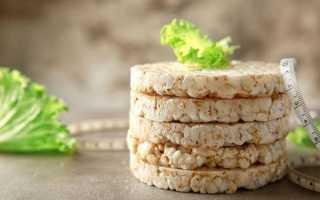Калорийность хлебцы. химический состав и пищевая ценность