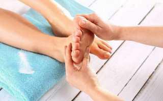 Техника проведения тайского массажа стоп