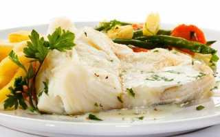 Палтус: калорийность, бжу, рецепты приготовления