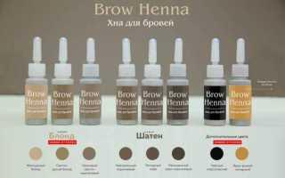 Хна для бровей browxenna (флакон)