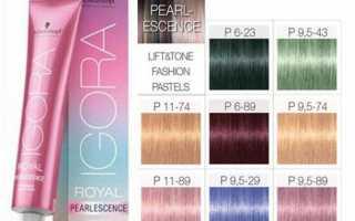 Краска для волос igora royal от schwarzkopf: палитра цветов, особенности