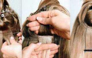 Быстрый способ преобразиться: ленточное наращивание волос